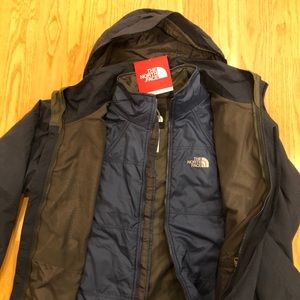 NWT North Face 3-in-1 Jacket
